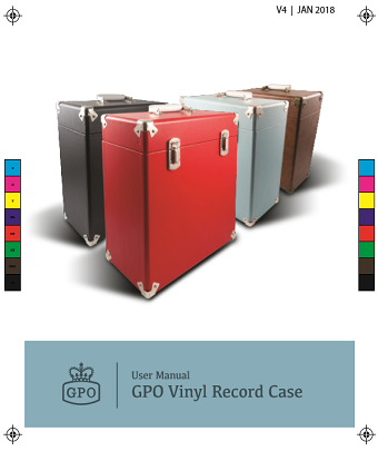 12 Inch Vinyl Record Case User Manual