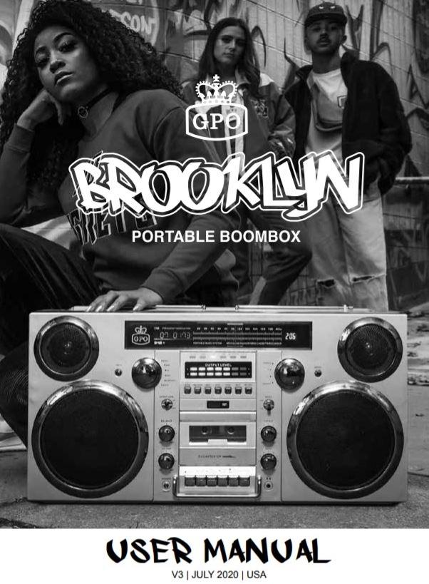 GPO Brooklyn User Manual EU