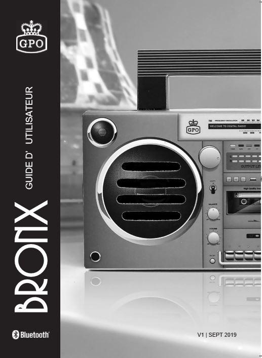 GPO BRONX User Manual Dutch Language