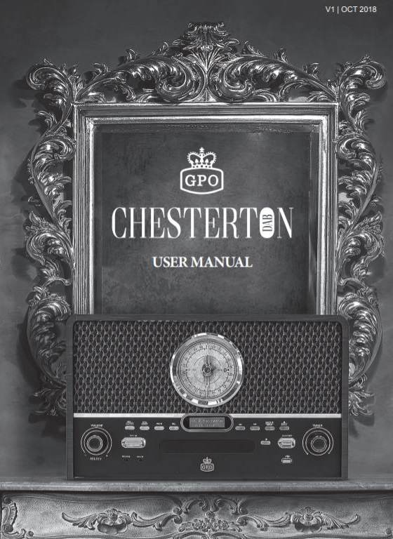 GPO Chesterton DAB User Manual