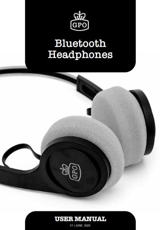 GPO Bluetooth Headphones User Manual