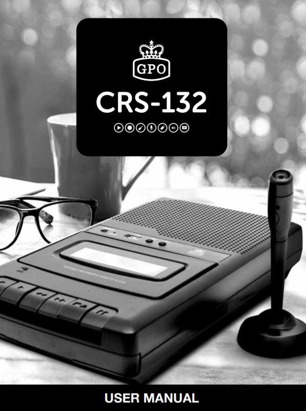 GPO CRS-132 User Manual