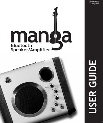 Manga Bluetooth Speaker User manual