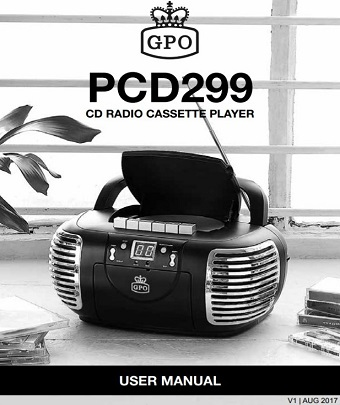 GPO PCD299 User Manual