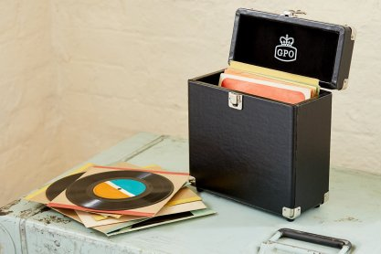 gpo Vinyl Case for vinyl player