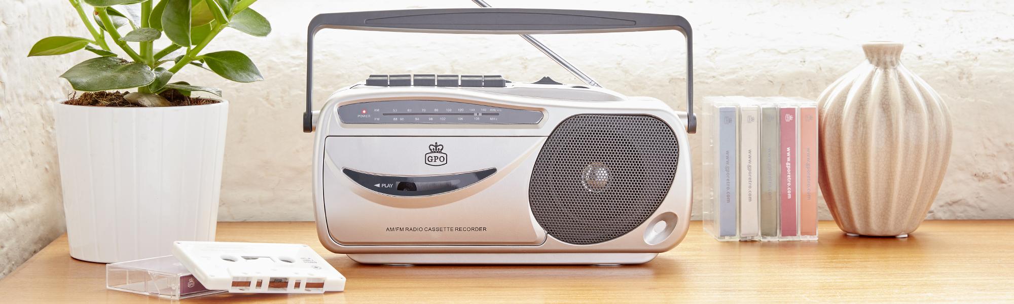 9401 AM FM Cassette Recorder