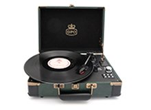 Bluetooth Record Player | Bluetooth Turntable With Speakers