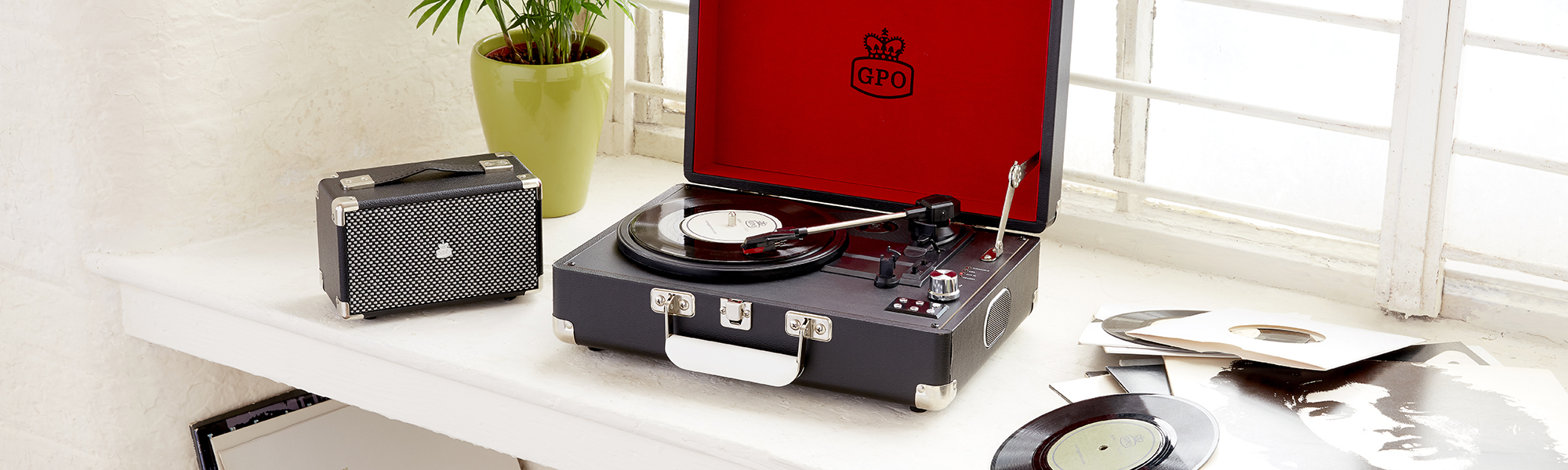 Record Player in Case | Briefcase Record Player | Case Record Players
