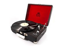 Record Player in Case | Briefcase Record Player | Case Record Player