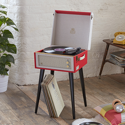 gpo bermuda vinyl player