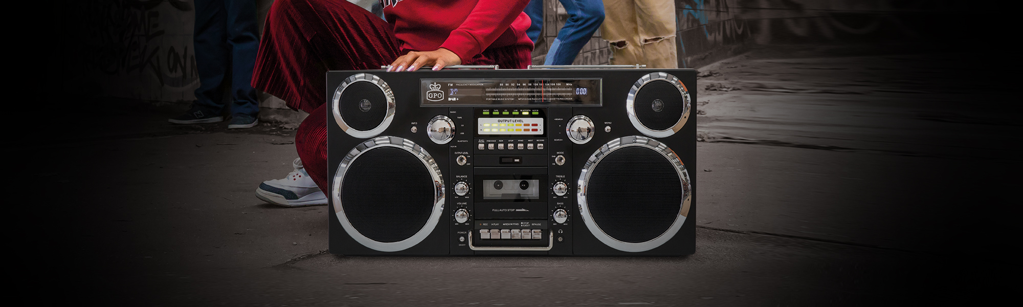 Best Boombox Bluetooth | ghetto blaster bluetooth | Retro Bluetooth Boombox