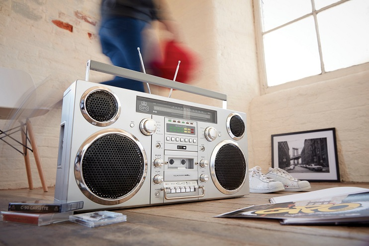 GPO Retro Boombox At CES 2019