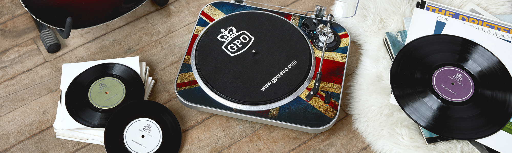 GPO released our first vinyl record player, the Stylo