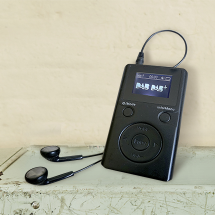 GPO Portable DAB+ Radios