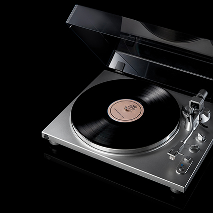 Black Turntables | Standalone Record Player | Turntable Decks