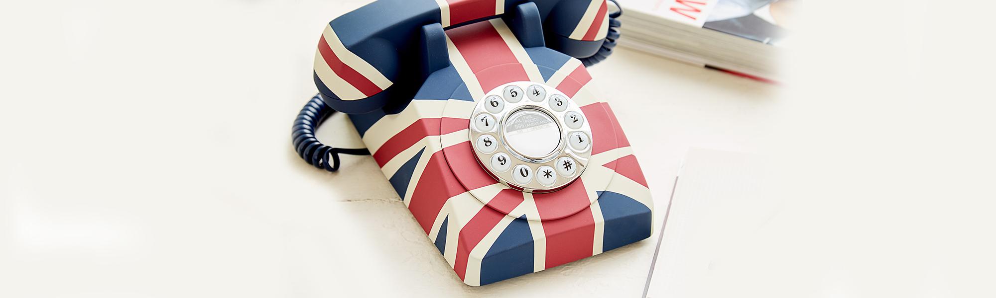 Union Jack Telephone | Touch Tone Phone | Union Jack Phones