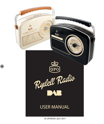 GPO Rydell DAB Radio User Manual