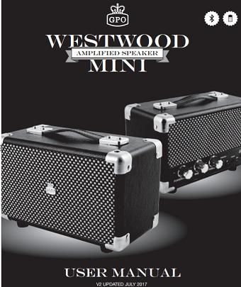 Westwood Mini Bluetooth Speaker User Manual