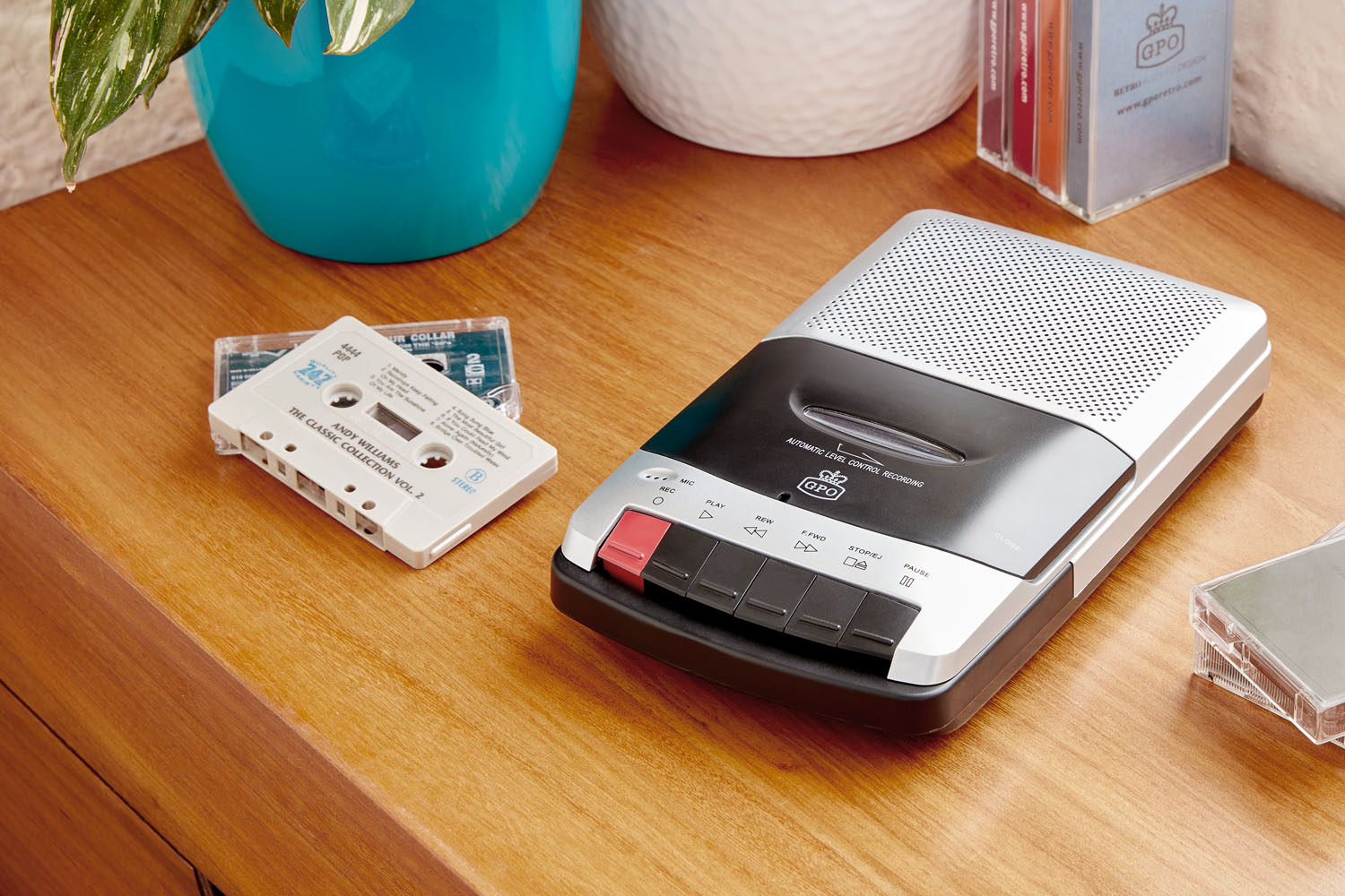 GPO Retro 162B Portable Cassette Recorder