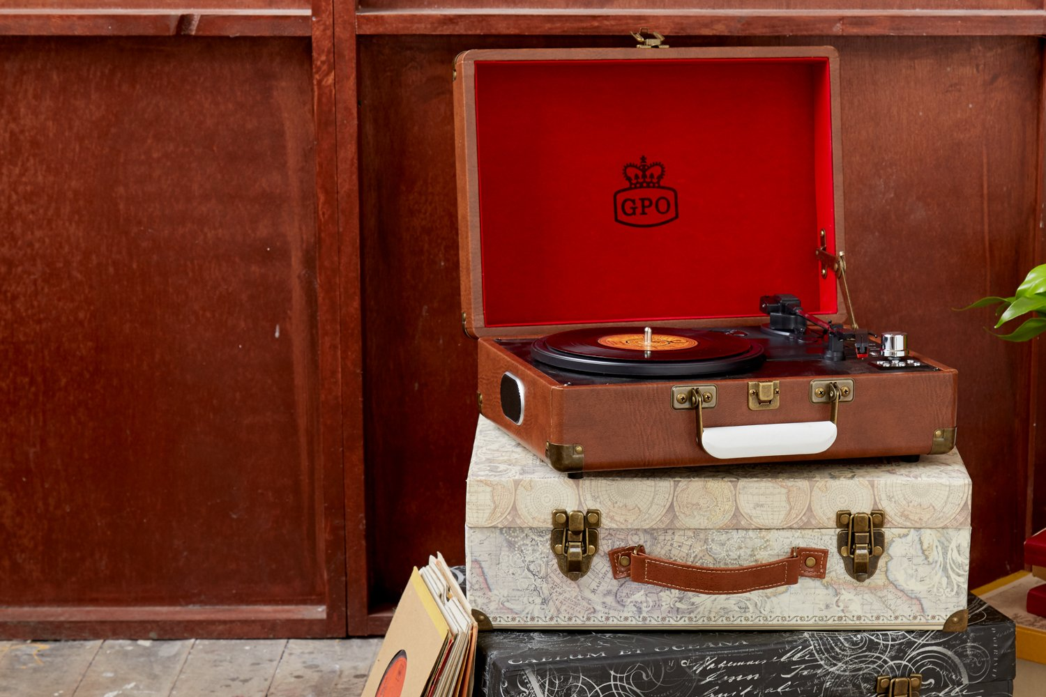 GPO Attaché Turntables - Record Players