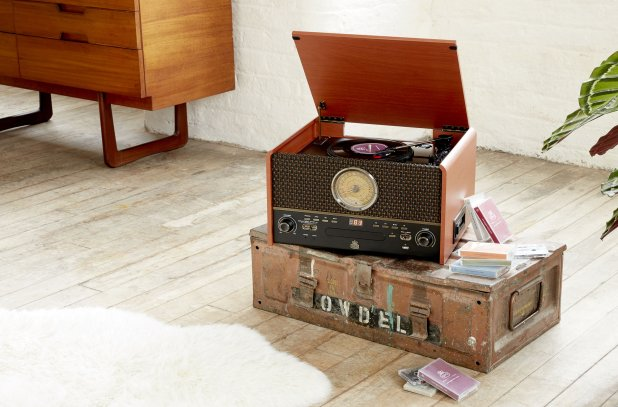 Buy Chesterton Vinyl Record Player By GPO Retro