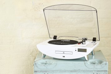 Vinyl Comeback, Best Vinyl Players,GPO Jive Retro turntable
