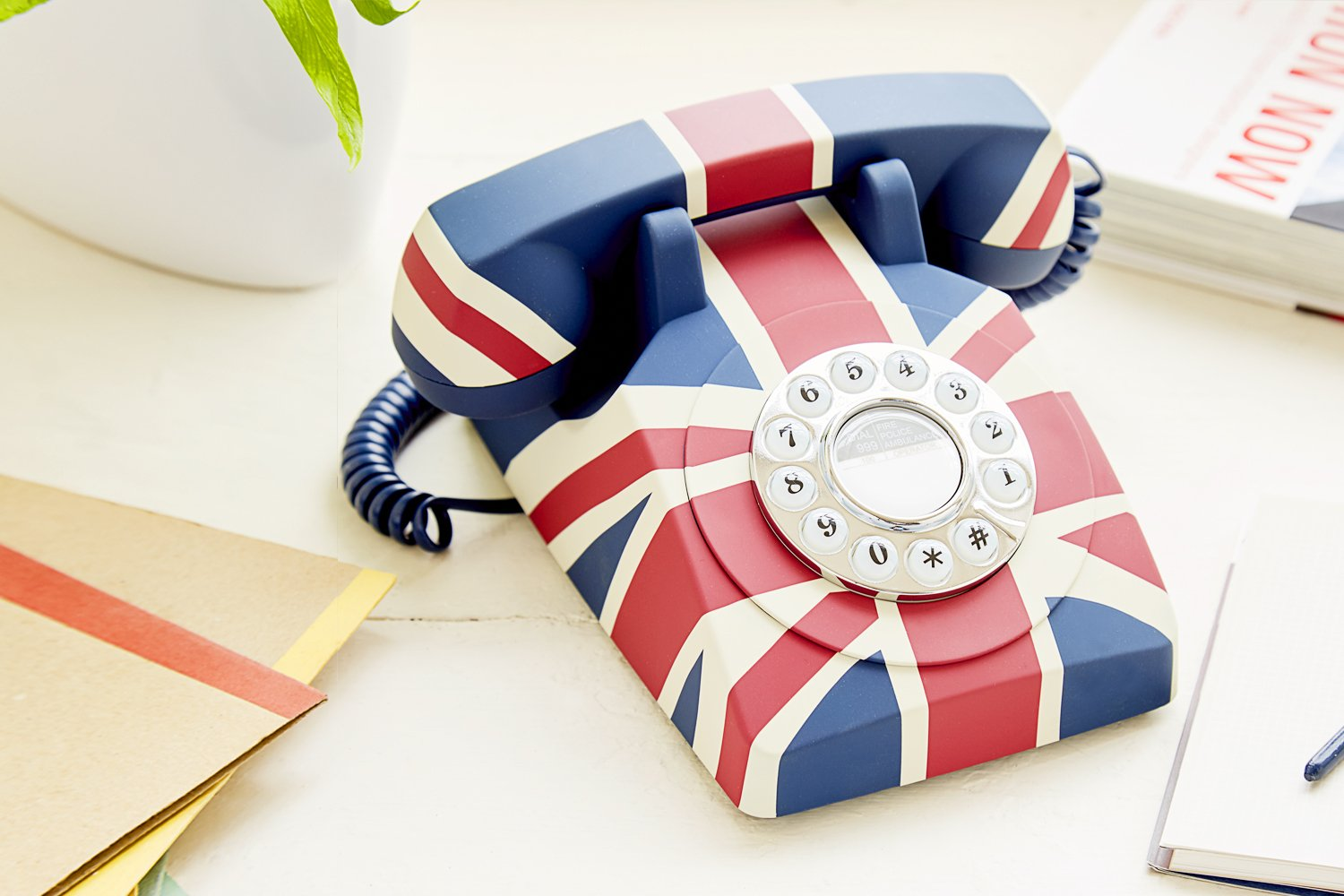 GPO Union Flag Phone Push Button Telephones