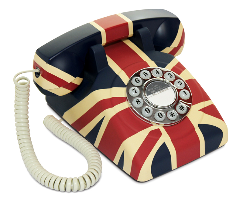 products category push button telephones gpo union jack