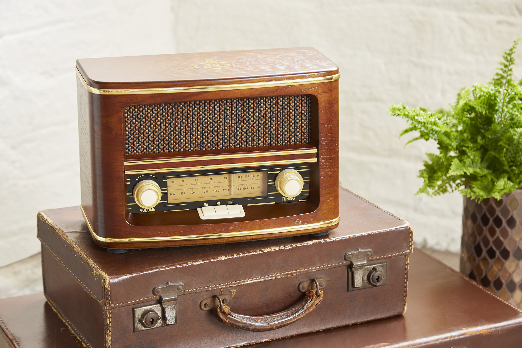 Vintage Radio Bluetooth