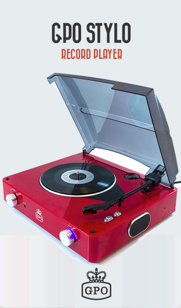 The GPO Stylo Record Player